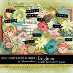 Brighton Embellishment Pack-$3.49 (Laura Burger)
