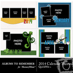 2014 Calendar Themed Quickmix-$5.99 (Albums to Remember)