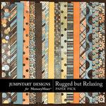 Rugged But Relaxing Paper Pack-$3.49 (Jumpstart Designs)