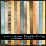 Rugged But Relaxing Blended Paper Pack-$1.75 (Jumpstart Designs)