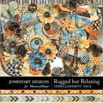 Rugged But Relaxing Embellishment Pack-$1.75 (Jumpstart Designs)
