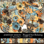 Rugged But Relaxing Combo Pack-$3.49 (Jumpstart Designs)