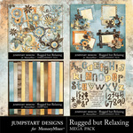 Rugged But Relaxing Add On Mega Pack-$8.55 (Jumpstart Designs)