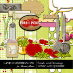 Salads and Dressings Combo Pack-$2.00 (Lasting Impressions)
