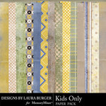 Kids Only Paper Pack-$3.49 (Laura Burger)