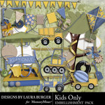 Kids Only Embellishment Pack-$1.40 (Laura Burger)
