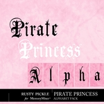Pirate Princess Alphabet-$1.99 (Rusty Pickle)