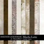 Mocha Latte Paper Pack-$3.49 (Laura Burger)