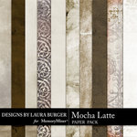 Mocha Latte Paper Pack-$3.49 (Laura Burger)