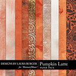 Pumpkin Latte Paper Pack-$3.49 (Laura Burger)