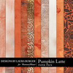 Pumpkin Latte Paper Pack-$3.49 (Laura Burger)