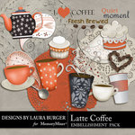 Latte Embellishment Pack-$3.49 (Laura Burger)