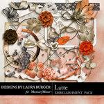 Latte Add On Embellishment Pack-$3.49 (Laura Burger)