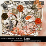 Latte Add On Embellishment Pack-$3.49 (Laura Burger)