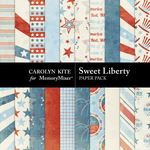 Sweet Liberty Paper Pack-$2.10 (Carolyn Kite)