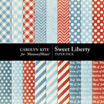 Sweet Liberty Extra Paper Pack-$3.49 (Carolyn Kite)