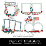 Sweet Liberty Clusters-$2.49 (Carolyn Kite)
