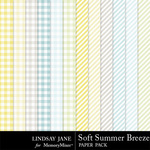 Soft Summer Breeze Extra Paper Pack-$3.49 (Lindsay Jane)