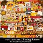 Sizzling Summer Combo Pack-$6.99 (Word Art World)