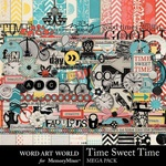 Time Sweet Time Mega Pack-$6.99 (Word Art World)