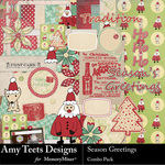 Seasons Greetings Combo Pack-$4.99 (Amy Teets)