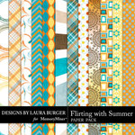 Flirting with Summer Second Paper Pack-$1.40 (Laura Burger)