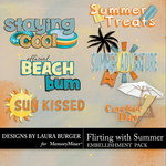 Flirting with Summer WordArt-$1.25 (Laura Burger)