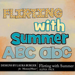 Flirting with Summer Alpha Pack-$1.20 (Laura Burger)