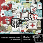 Medical Doctor Combo Pack-$6.99 (Albums to Remember)