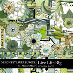 Live Life Big Combo Pack-$6.99 (Laura Burger)
