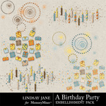 A Birthday Party Scatterz-$1.99 (Lindsay Jane)