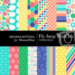 Fly Away With Me Paper Pack-$3.49 (Melissa Nuttall)