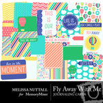 Fly Away With Me Journaling Cards-$2.49 (Melissa Nuttall)