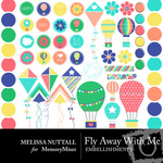 Fly Away With Me Embellishment Pack-$2.99 (Melissa Nuttall)
