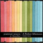 A Perfect Afternoon Paper Pack-$2.99 (Jumpstart Designs)