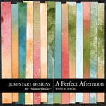 A Perfect Afternoon Blends Paper Pack-$3.49 (Jumpstart Designs)