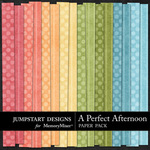 A Perfect Afternoon Basics Paper Pack-$3.49 (Jumpstart Designs)
