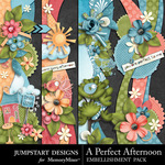 A Perfect Afternoon Borders-$2.49 (Jumpstart Designs)