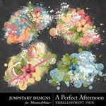A Perfect Afternoon Scatters-$2.49 (Jumpstart Designs)