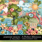 A Perfect Afternoon Embellishment Pack-$4.99 (Jumpstart Designs)