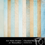 Cherished Memories Paper Pack-$3.49 (Fly Pixel Studio)