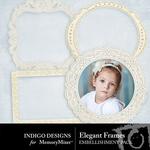 Elegant ID Frames-$1.99 (Indigo Designs)