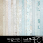 Simple Moments ID Paper Pack-$2.99 (Indigo Designs)