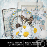 Simple Moments ID Embellishment Pack-$2.99 (Indigo Designs)