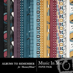 Music In Me Paper Pack-$3.49 (Albums to Remember)