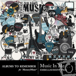Music In Me Embellishment Pack-$2.99 (Albums to Remember)