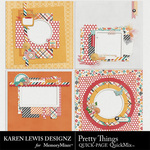 Pretty Things Quick Pages-$3.49 (Karen Lewis)