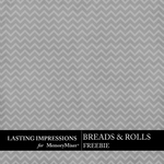 Breads and Rolls Freebie-$0.00 (Lasting Impressions)