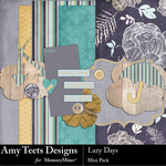 Lazy Days Mini Pack-$3.99 (Amy Teets)