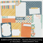 Beautiful Morning Journal Pack-$1.99 (Karen Lewis)
